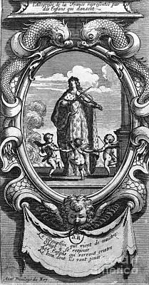 Louis, Dauphin Of France Art Print