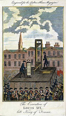Louis Xvi: Execution Art Print by Granger