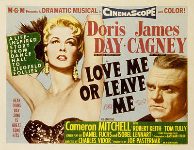Love Me Or Leave Me, Poster Art, Doris Art Print by Everett
