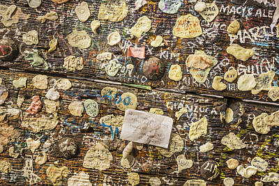 Message Art Photograph - Love Messages On The Wall Of Giulietta House by Maremagnum