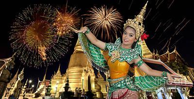 Lovely Pretty With Thai Dance Original by Anek Suwannaphoom