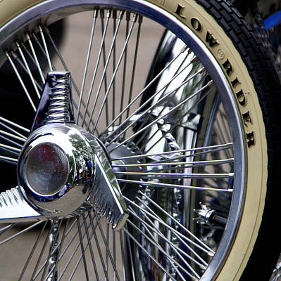 Low Rider And Silver Spokes - II Art Print by Tam Graff