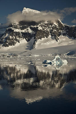 Luigi Peak Wiencke Island Antarctic Art Print by Colin Monteath