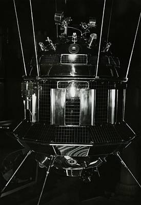 3 October Photograph - Luna 3 Spacecraft by Ria Novosti
