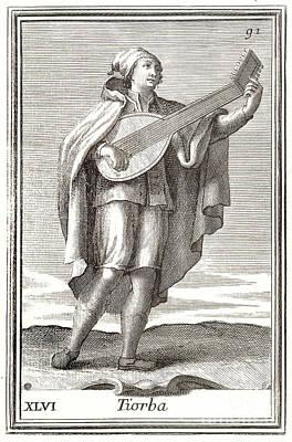Lute, 1723 Art Print by Granger