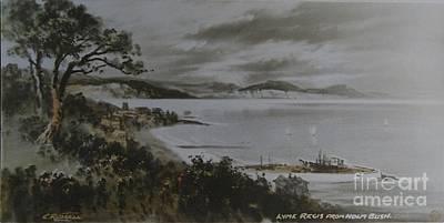 Art Print featuring the photograph Lyme Regis  by Gary Bridger