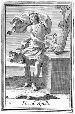 Lyre Art Print by Granger