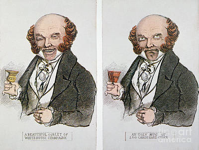 Hard Cider Wall Art - Photograph - M. Van Buren: Cartoon, 1840 by Granger