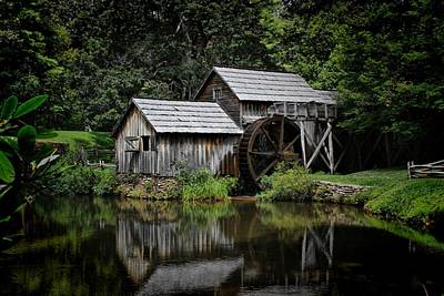 Photograph - Mabry Mill by Christine Annas