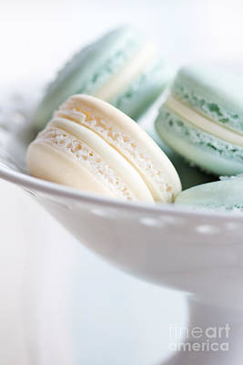 Macaroons Photograph - Macarons by Ruth Black