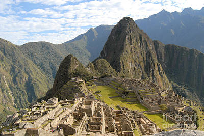Photograph - Machu Picchu  by Eva Kaufman