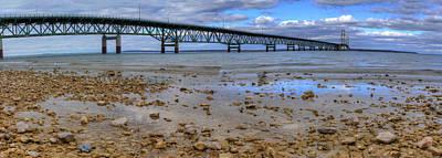 Mackinac Photograph - Mackinac Bridge by Twenty Two North Photography
