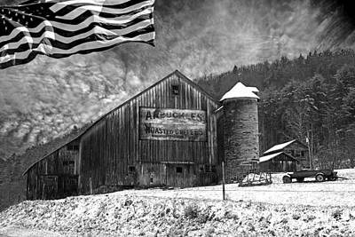 U.s.a. Flag Photograph - Made In America by John Stephens
