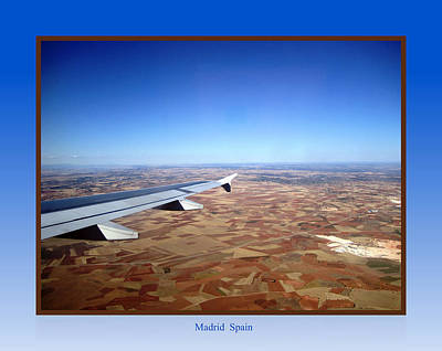 Photograph - Madrid Landing Spain by John Shiron