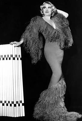 Sex Symbol Photograph - Mae West, Paramount Pictures, Ca. Early by Everett