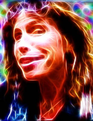 Steven Tyler Painting - Magical Steven Tyler by Paul Van Scott