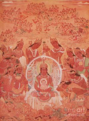 Jainism Wall Art - Photograph - Mahavira by Photo Researchers