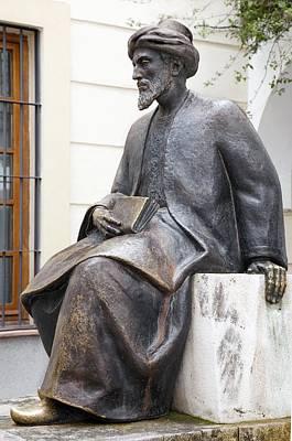 Maimonides, Jewish Philosopher Art Print by Sheila Terry