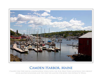Maine Harbour Art Print by Jim McDonald Photography