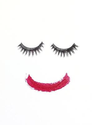 Make Up Art Print by Tek Image