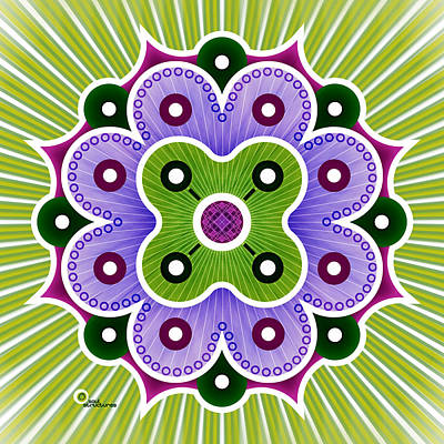 Digital Art - Mandala Of Abundance by Soul Structures