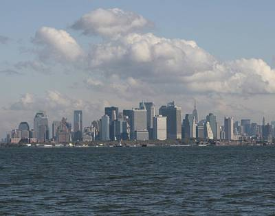 East River Photograph - Manhattan From Bay Ridge by Christopher Kirby