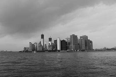 Nina Mirhabibi Photograph - Manhattan by Nina Mirhabibi