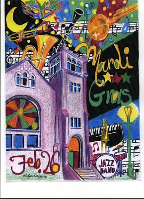Painting - Mardi Gras by Rodger Ellingson