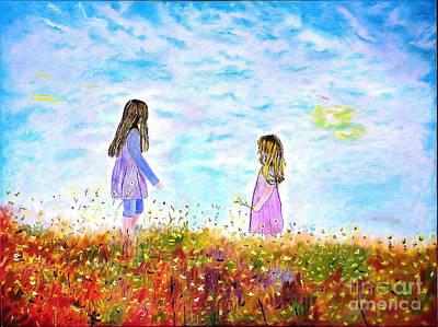 Painting - Maria - Filippia by Kostas Dendrinos