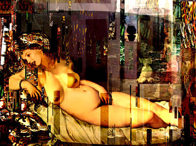 Marilyn Monroe Nude In Opium House Art Print