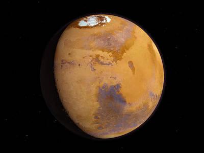 Mars Art Print by Joe Tucciarone