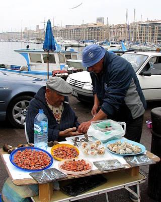 Photograph - Marseilles Fishermen by Carla Parris