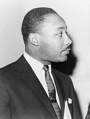 Martin Luther King, Jr. Leader Art Print