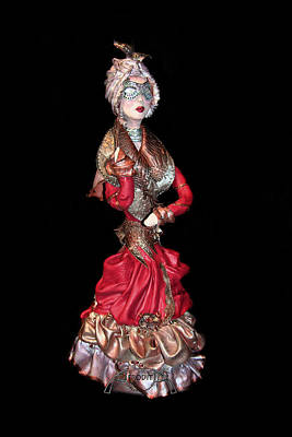 Sculpture - Masquerade by Afrodita Ellerman