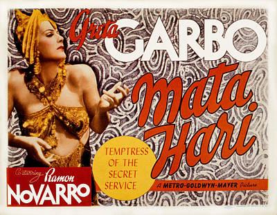 Mata Hari, Greta Garbo, 1931 Print by Everett