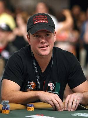 Matt Damon In Attendance For 2010 Ante Art Print