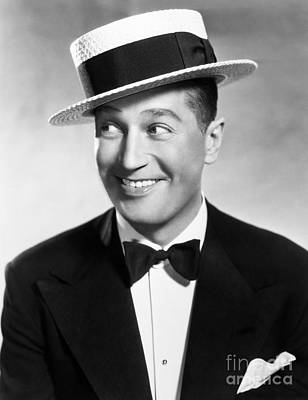Maurice Chevalier Art Print by Granger
