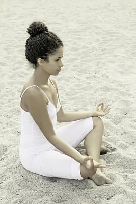 Contemplating Photograph - Meditation by Joana Kruse