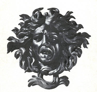 Gorgon Photograph - Medusa Head by Photo Researchers