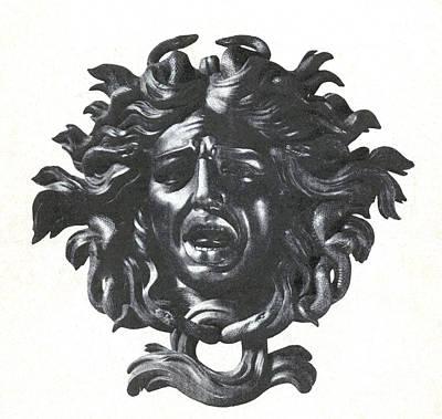 Gorgon Wall Art - Photograph - Medusa Head by Photo Researchers