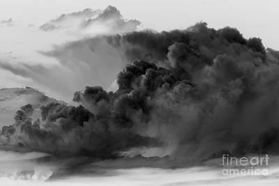 Mega Storm Cloud Art Print