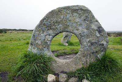 Megalith Photograph - Men-an-tol Standing Stones by Dr Keith Wheeler