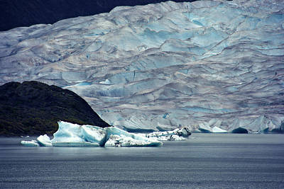 Photograph - Mendenhall Glacier by Marilyn Wilson