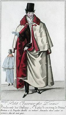 Photograph - Mens Fashion, C1830 by Granger