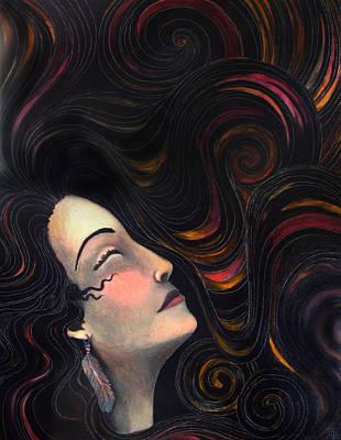 Mercy Art Print by Monica Furlow