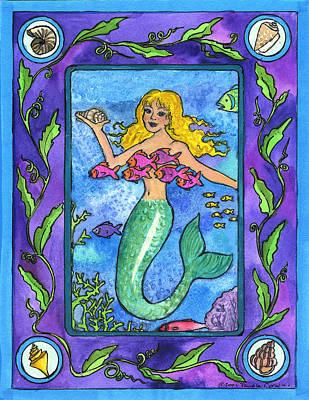 Painting - Mermaid by Pamela  Corwin