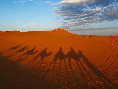 Photograph - Merzouga Desert Morocco by Ian Stevenson