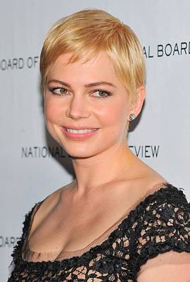 Michelle Williams At Arrivals For The Art Print by Everett