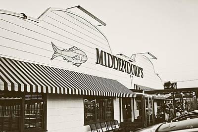 Louisiana Seafood Photograph - Middendorf's by Scott Pellegrin