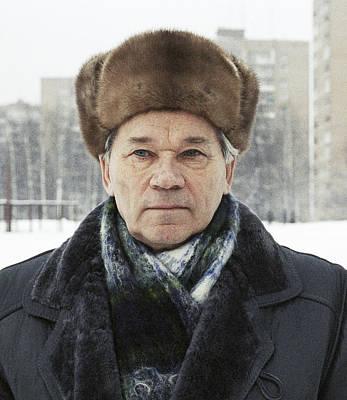 Kalashnikov Photograph - Mikhail Kalashnikov, Russian Gun Designer by Ria Novosti